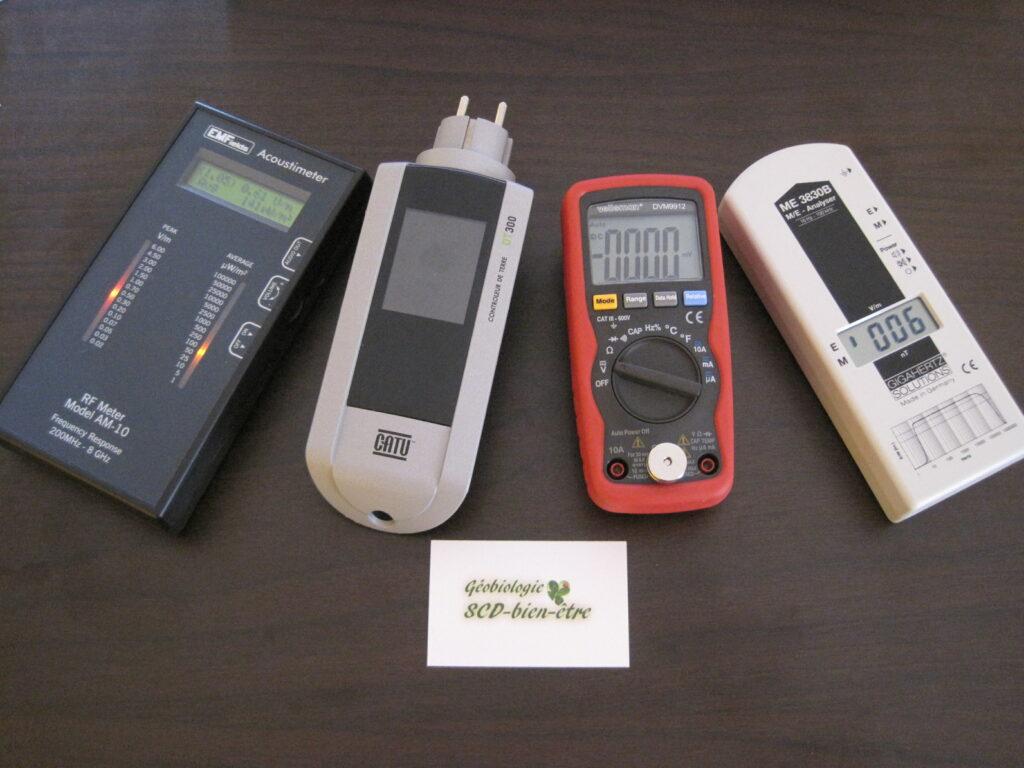 mesures ondes électromagnétiques